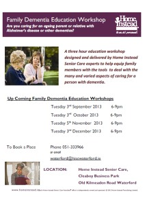 Dementia Family poster