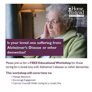 Dementia family training
