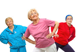 Senior Exercising
