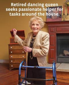 retired dancing queen